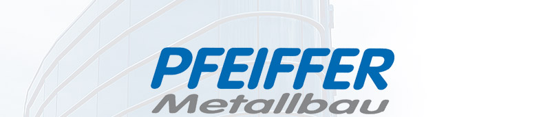 Pfeiffer Metallbau Logo